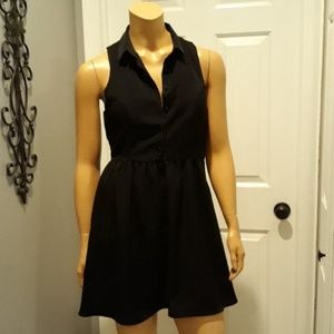 One clothing black summer Sundress size small
